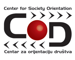 Logo for the Center for Society Orientation (COD)