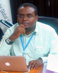 Africa regional officer Dagnachew Wakene
