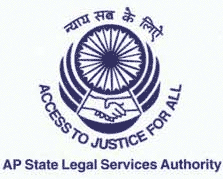AP state legal services authority logo